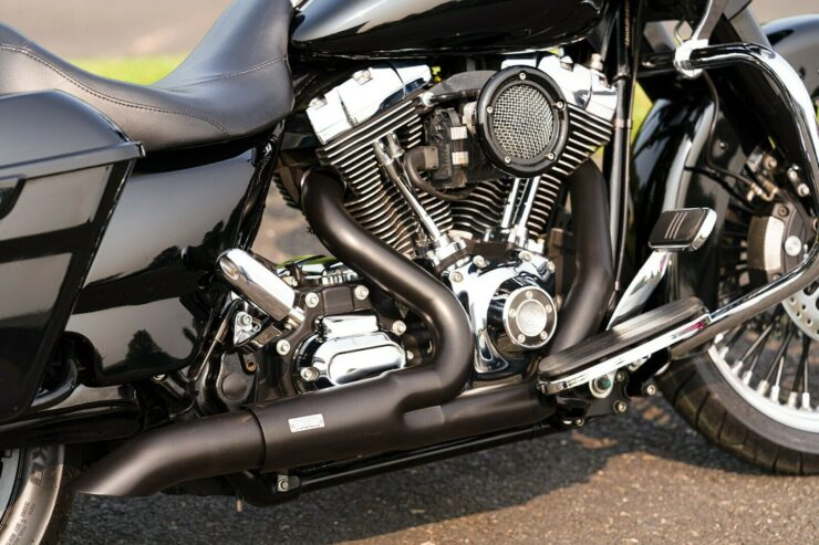 Exhaust For Harley Bagger
