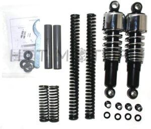 "SMT-Slammer Lowering Kit 10.5"" Shocks Compatible With 91-05 Harley Dyna FXD"